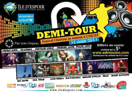 Affiche Demi-tour 2013